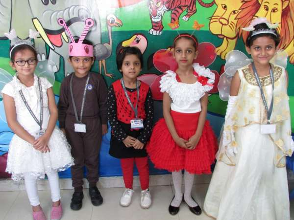 SWS Pre-primary section celebrates Creepy Crawlies Day