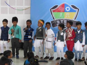 SWS Pre-Primary section organized Character Presentation Activity