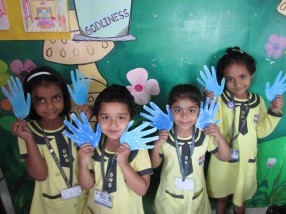 SWS Pre-Primary section Celebrates Blue Day